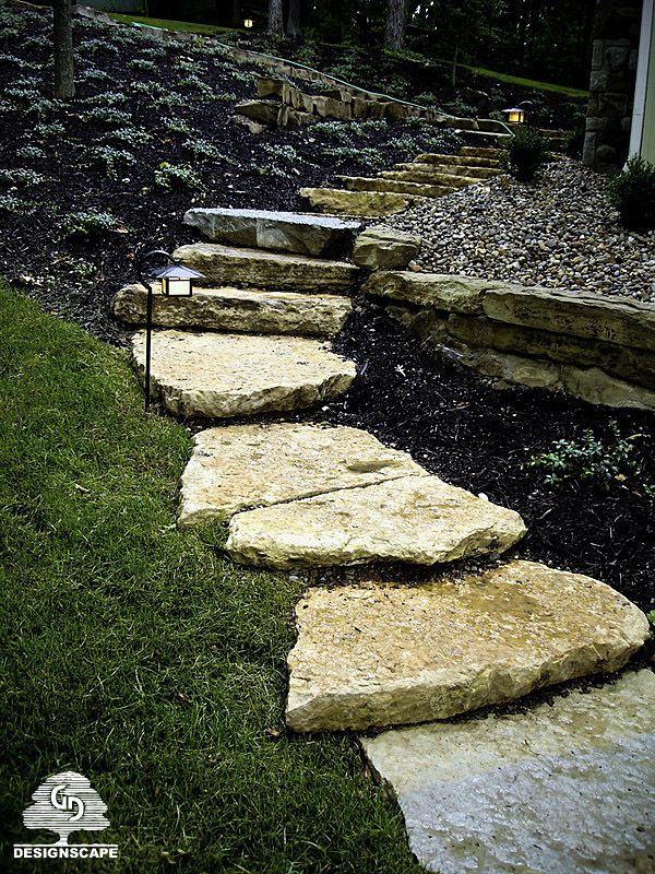 Hardscape, Natural Stairs