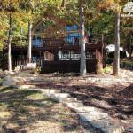 designscape, hardscaping, limestone, natural stone steps, grandview lake, columbus indiana,