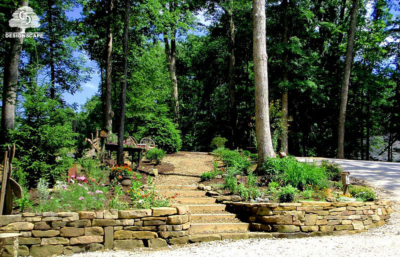 hardscape, softscape, garden, stairs, nashville, columbus, brown county